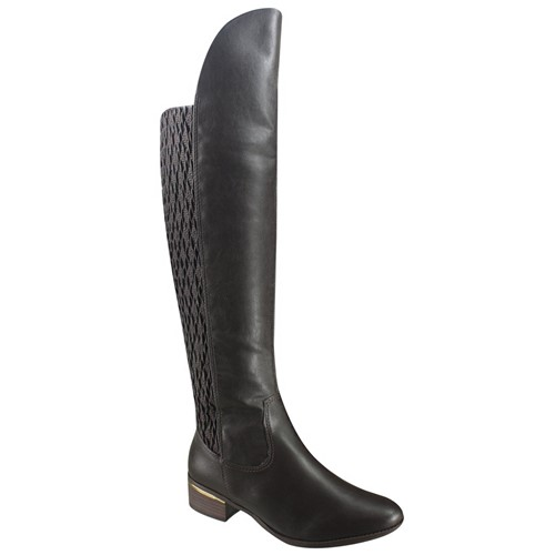Bota Feminina Over Knee Comfortflex 17-69305 000017 1769305000017