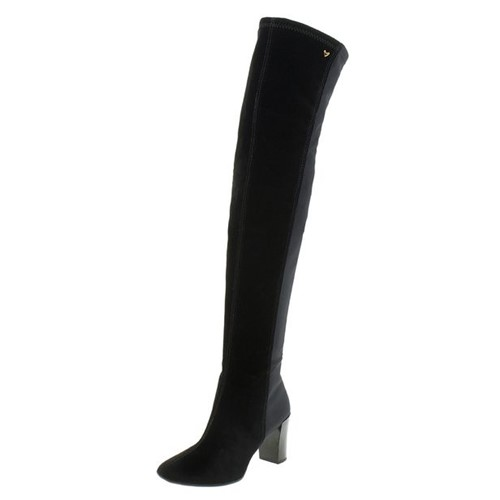 Bota Feminina Over The Knee Preta Mississipi - X6292