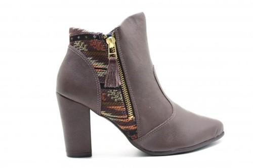 Bota Feminina Ramarim Ankle Boot 1615131