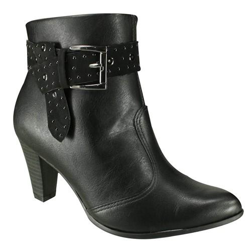 Bota Feminina Ramarim Ankle Boot 18-15132 000003 1815132000003