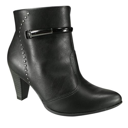 Bota Feminina Ramarim Ankle Boot 18-15131 000004 1815131000004