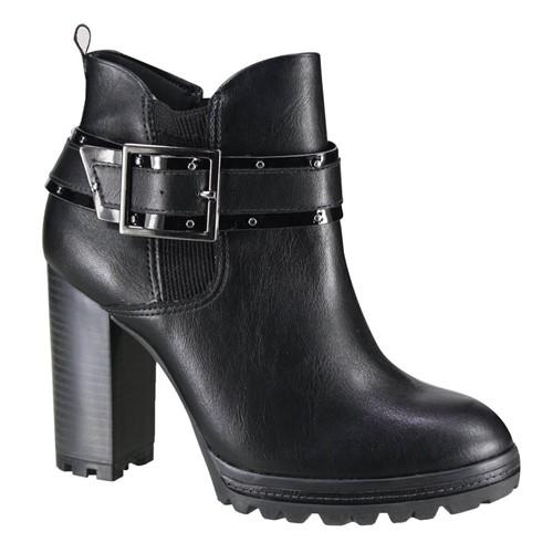 Bota Feminina Ramarim Ankle Boot 19-53101 000002 1953101000002
