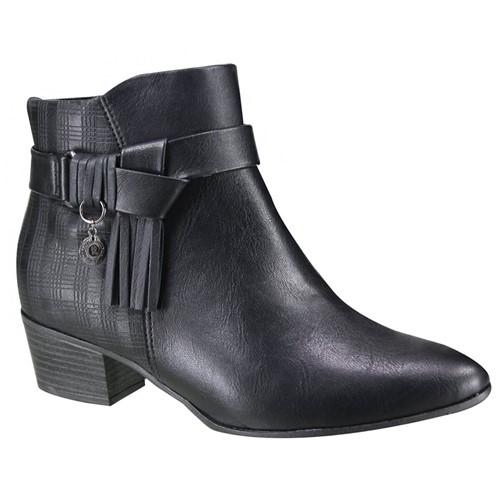 Bota Feminina Ramarim Ankle Boot 19-59102 000002 1959102000002