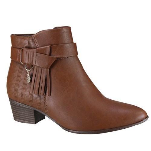 Bota Feminina Ramarim Ankle Boot 19-59102 000001 1959102000001