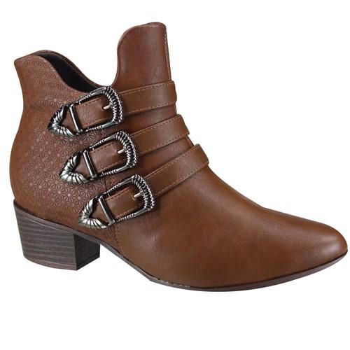 Bota Feminina Ramarim Ankle Boot 19-59104 000006 1959104000006