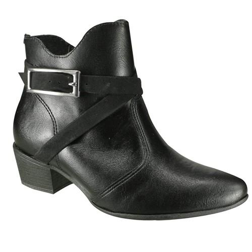 Bota Feminina Ramarim Ankle Boot 19-62103 000004 1962103000004