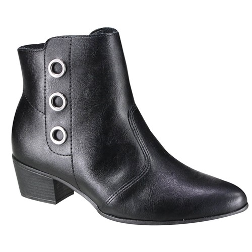 Bota Feminina Ramarim Ankle Boot 19-62102 1962102