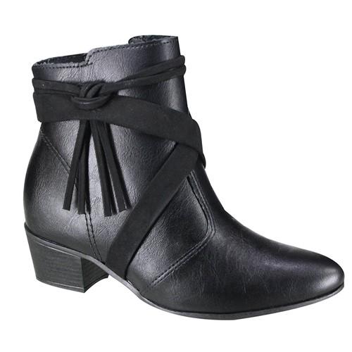 Bota Feminina Ramarim Ankle Boot 19-62101 1962101