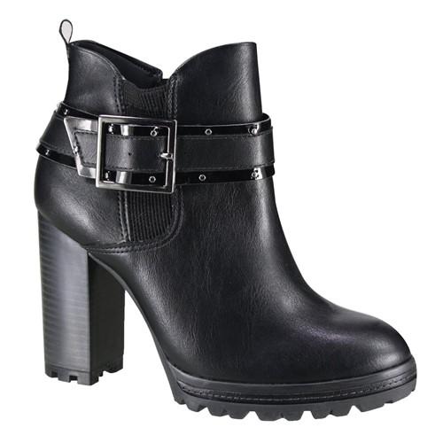 Bota Ramarim Ankle Boot Feminina 19-53101 000002 1953101000002