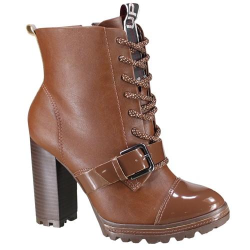 Bota Ramarim Ankle Boot Feminina 19-53105 000003 1953105000003