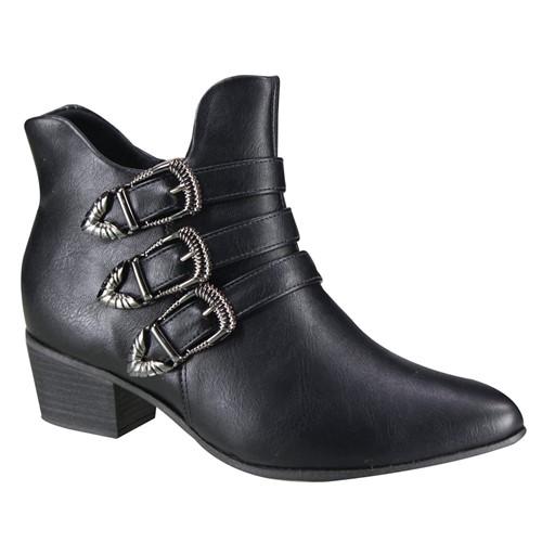 Bota Ramarim Ankle Boot Feminina 19-59104 000001 1959104000001