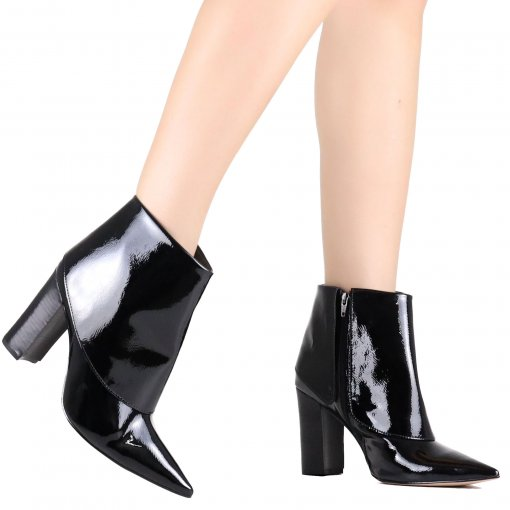 Bota Zariff Ankle Boot Verniz | Betisa