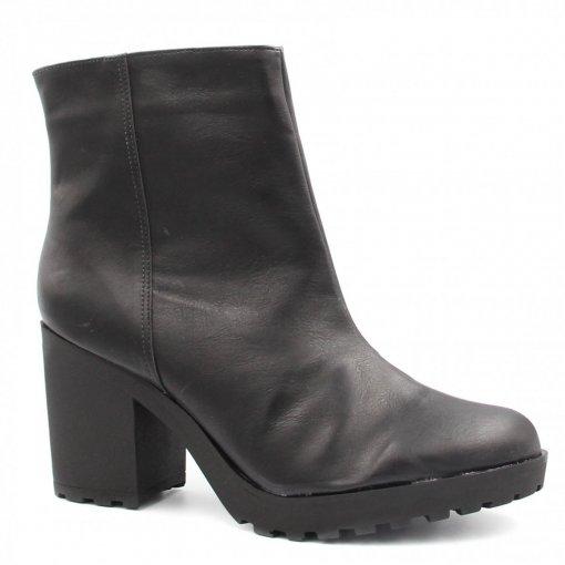 Bota Zariff Shoes Coturno Salto Zíper 2882353 | Betisa