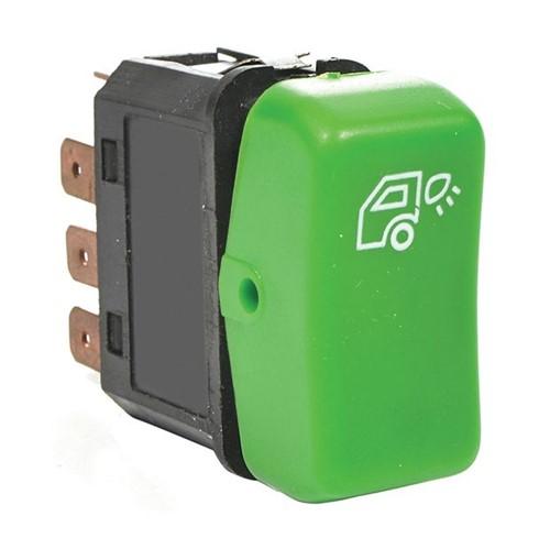 Botão Acionador da Luz Externa Cabine - Un90894 Caminhões
