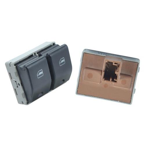 Botão Acionadora do Vidr Clique Conector Original Porta Dianteira Lado Esquerdo Out - Un90951 Gol /voyage /fox /sp