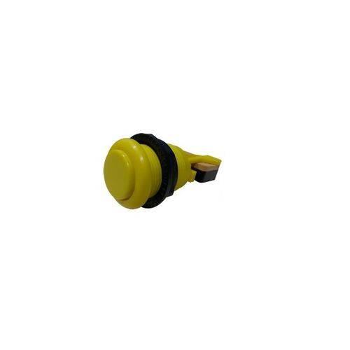 Botão Aegir Arcade de Nylon com Micro Switch - Amarelo