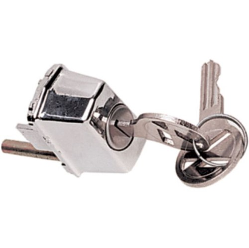Botão da Maçaneta Externa do Porta Dianteira com Chave G1 - Un20357 Fusca /karmann Ghia
