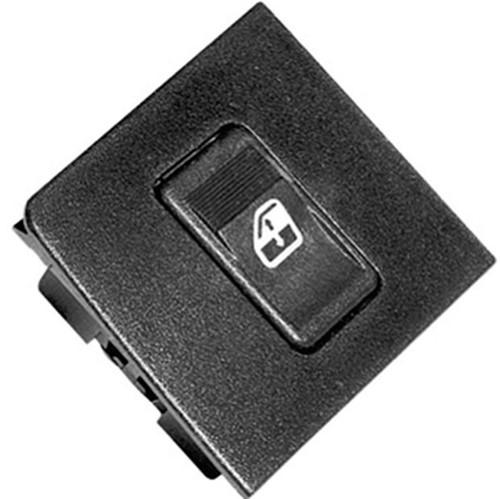 Botão do Vidro com Moldura Simples Lado Esquerdo D Âmbar G1 Fase - Un90366 Uno