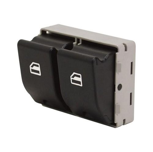 Botão do Vidro D Lo Conector Original Porta Dianteira Lado Esquerdo - Un90391 Gol /voyage /fox