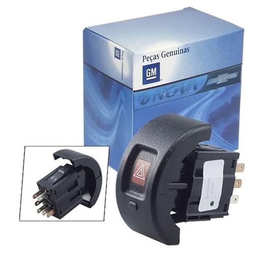 Botão Interruptor do Pisca Alerta Emergência 24416080 Astra