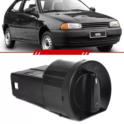 Botão Interruptor Rotativo de Luzes Gol Special 1997 a 2001 Parati 2 e 4 Portas