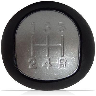 Botão Manopla Bola Câmbio Citroen C3 C4 Xsara Picasso 2003 a 2013 Prata