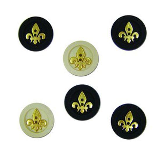 Botões P/Apliques Estilo Imperial 5968Diu TEC