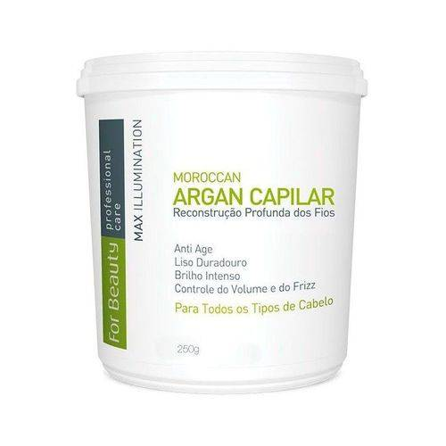 Botox Capilar For Beauty com Argan Oil 250g (sem Formol)