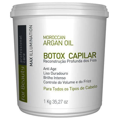 Botox Max Illumination Máscara Alisante -1kg For Beauty