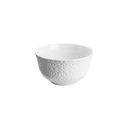Bowl em Porcelana Branco Garden 12cm