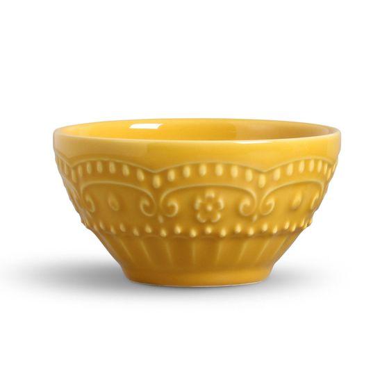 Bowl Esparta Cerâmica Mostarda Porto Brasil