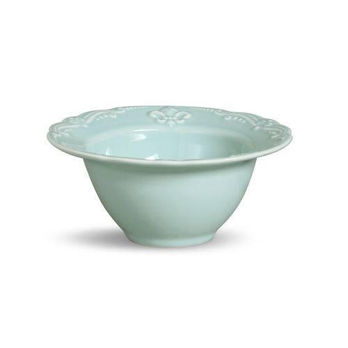 Bowl Flor de Lis Verde 600ml Jogo com 6 Peças