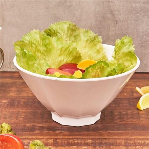 Bowl para Salada Oval Melamina Jade Havan Branco