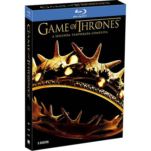 Box Blu-ray Game Of Thrones: 2ª Temporada Completa (5 Discos)