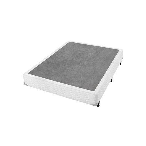 Box Casal Ax Branco 138X188x24 Americanflex