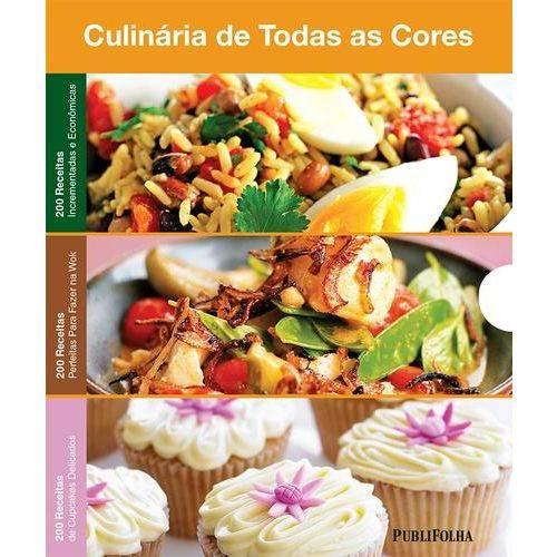 Box Culinaria de Todas as Cores - 200 Receitas Incrementadas e Economicas; Perfeitas para Fazer na W