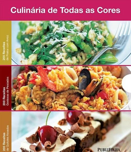 Box - Culinaria de Todas as Cores - Arroz - Pescados - Assados