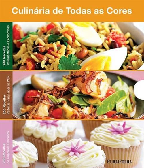 Box - Culinaria de Todas as Cores - Economicas - Wok - Cupcakes