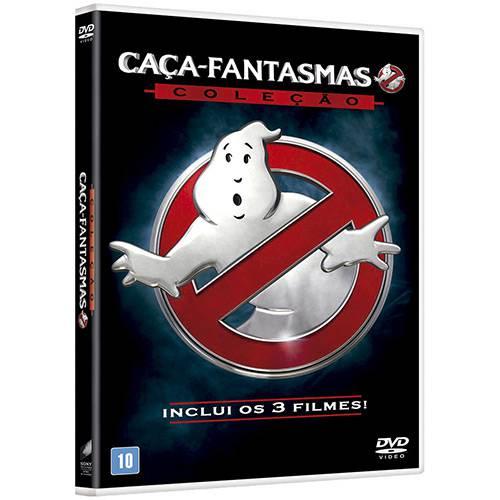 BOX DVD Caça-fantasmas / Caça-fantasmas 2 / Caça-fantasmas (2016)