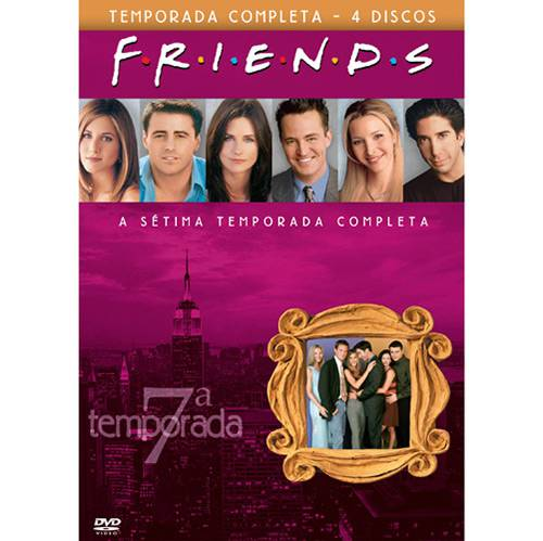 Box DVD Coleção Friends: 7ª Temporada (4 DVDs)
