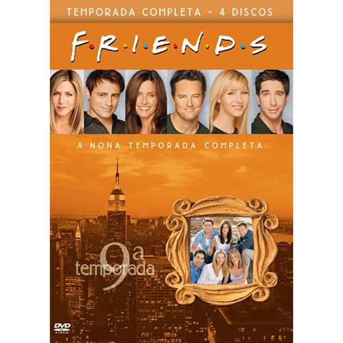Box DVD Coleção Friends: 9ª Temporada - (4 DVDs)