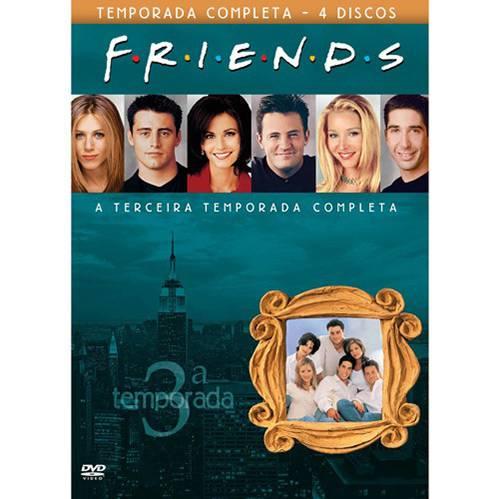 Box DVD Coleção Friends: 3ª Temporada (4 DVDs)