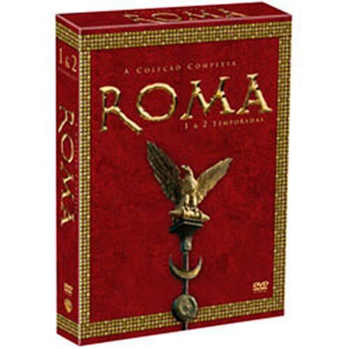 Box DVD Coleção Roma: 1ª e 2ª Temporada - (11 DVDs)