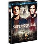 Box DVD Coleção Supernatural: 4ª Temporada - (6 DVDs)