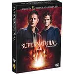 Box DVD Coleção Supernatural: 5ª Temporada (6 DVDs)