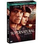 Box DVD Coleção Supernatural: 3ª Temporada (5 DVDs)