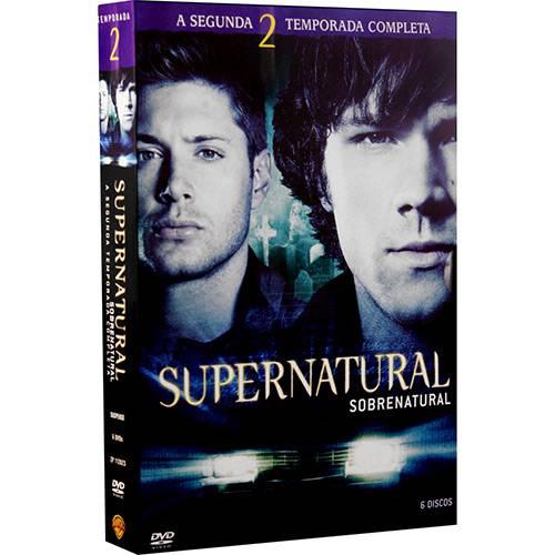 Box DVD Coleção Supernatural: 2ª Temporada (6 DVDs)
