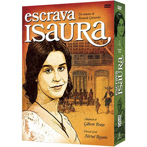 Box DVD Escrava Isaura (5 DVDs)