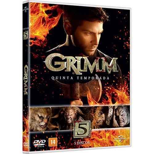 Box DVD Grimm - 5ª Temporada