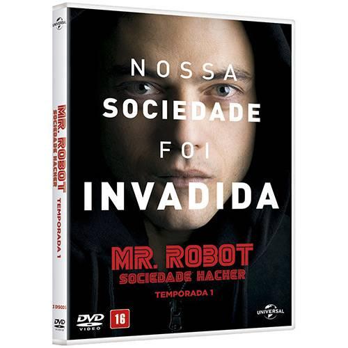 BOX DVD Mr. Robot - Sociedade Hacker - 1ª Temporada